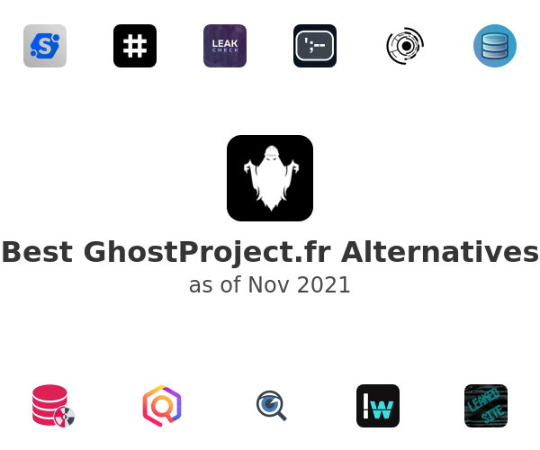 Best GhostProject.fr Alternatives