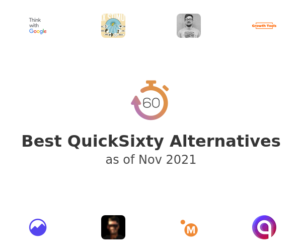Best QuickSixty Alternatives