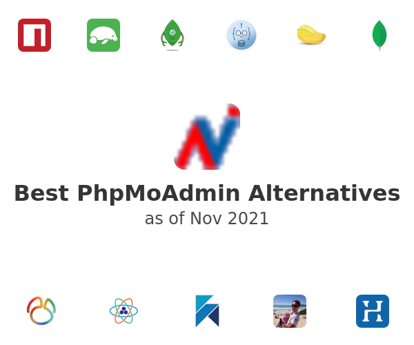 Best PhpMoAdmin Alternatives