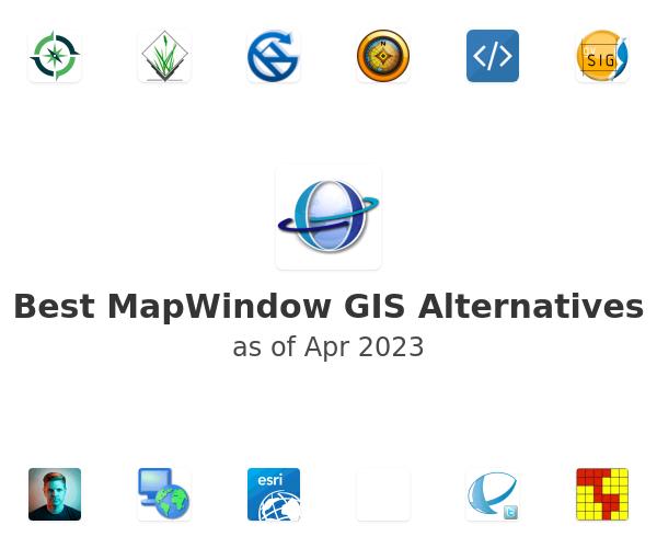 Best MapWindow GIS Alternatives
