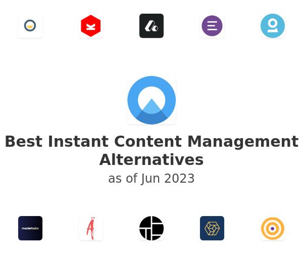 Best Instant Content Management Alternatives