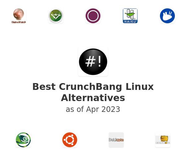 Best CrunchBang Linux Alternatives