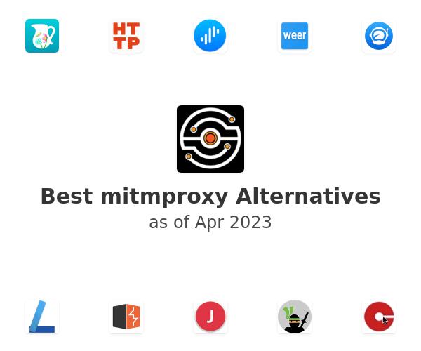 Best mitmproxy Alternatives