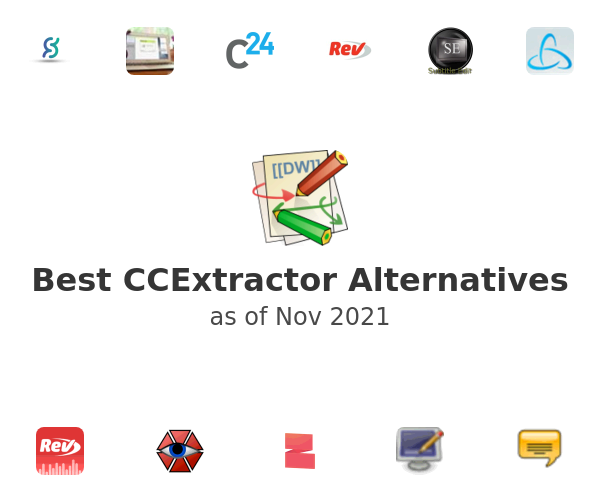 Best CCExtractor Alternatives