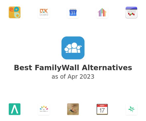 Best FamilyWall Alternatives