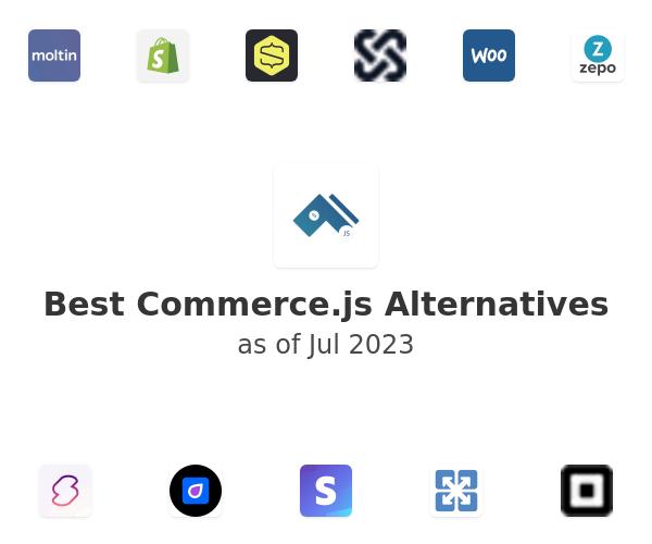 Best Commerce.js Alternatives