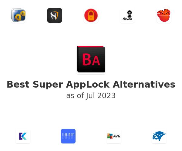 Best Super AppLock Alternatives