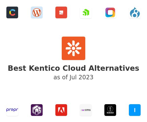 Best Kentico Cloud Alternatives