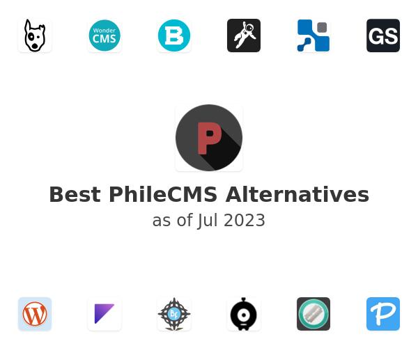 Best PhileCMS Alternatives
