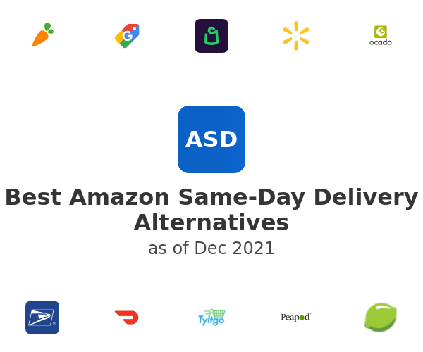 Best Amazon Same-Day Delivery Alternatives