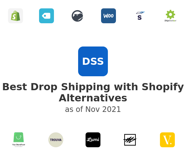 Best Drop Shipping with Shopify Alternatives