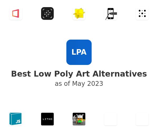 Best Low Poly Art Alternatives