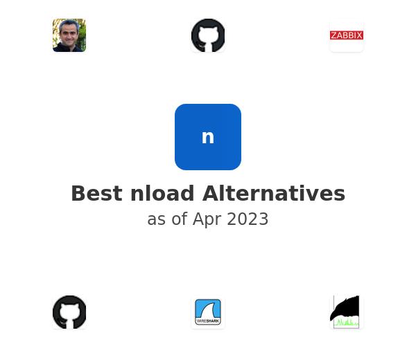 Best nload Alternatives