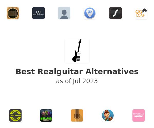 Best Realguitar Alternatives