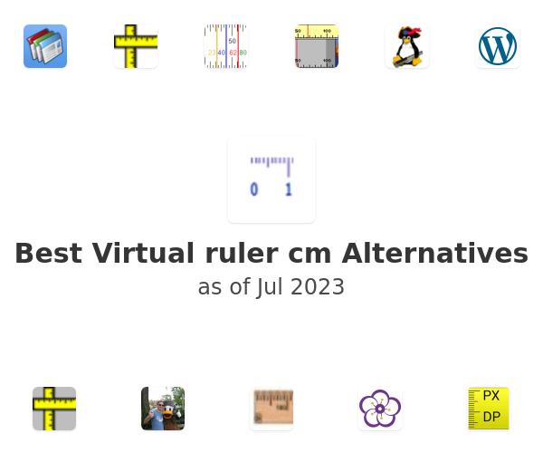 Best Virtual ruler cm Alternatives