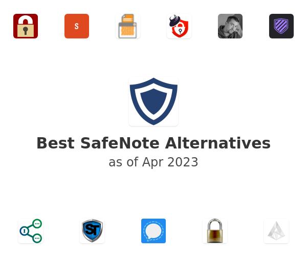 Best SafeNote Alternatives