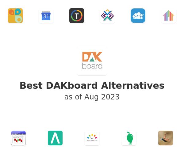 Best DAKboard Alternatives