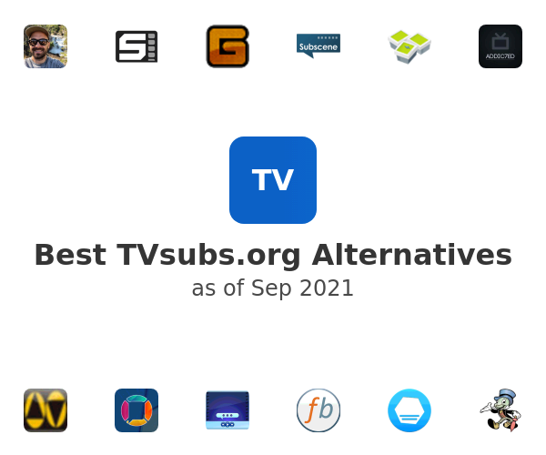 Best TVsubs.org Alternatives