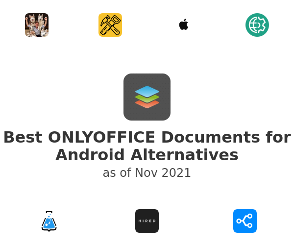 Best ONLYOFFICE Documents for Android Alternatives