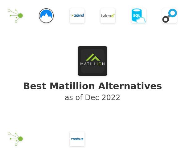 Best Matillion Alternatives