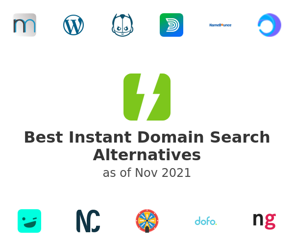 Best Instant Domain Search Alternatives