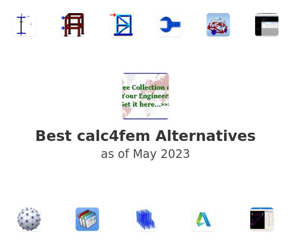 Best calc4fem Alternatives