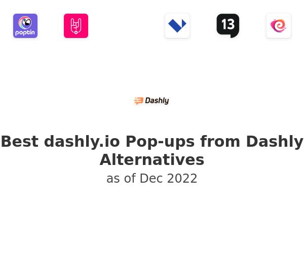 Best Pop-ups from Dashly Alternatives