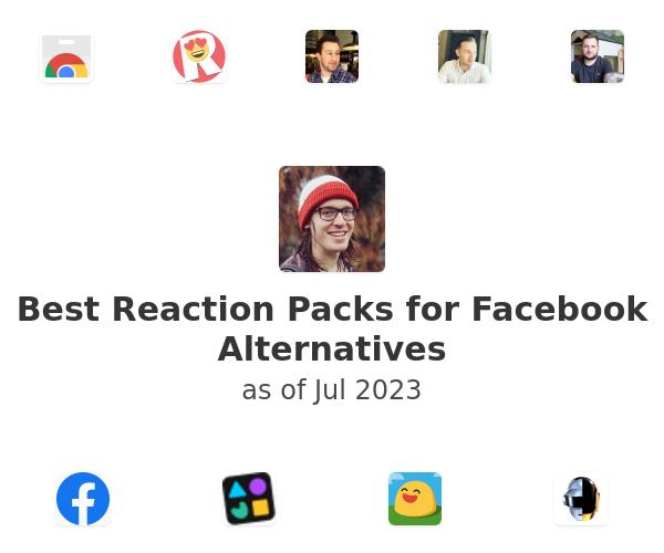 Best Reaction Packs for Facebook Alternatives