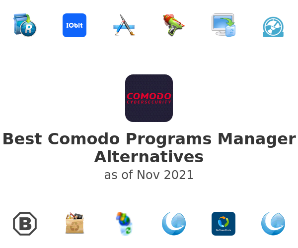 Best Comodo Programs Manager Alternatives