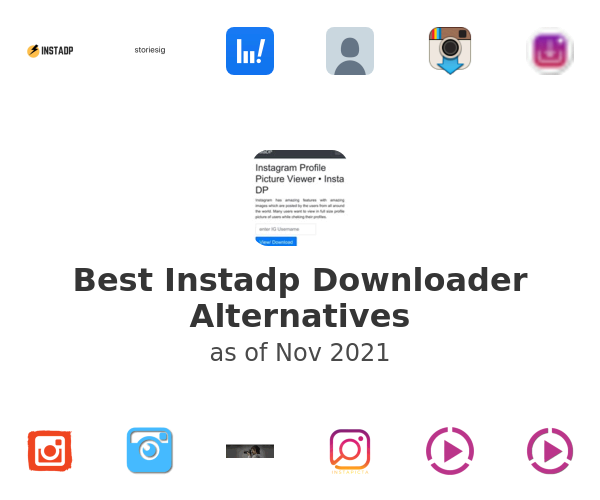 Best Instadp Downloader Alternatives