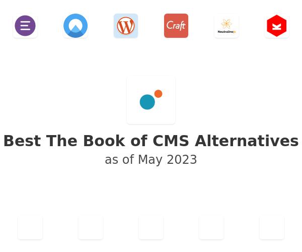 Best The Book of CMS Alternatives