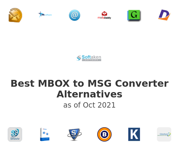 Best MBOX to MSG Converter Alternatives