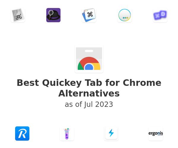 Best Quickey Tab for Chrome Alternatives