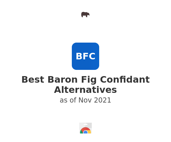 Best Baron Fig Confidant Alternatives
