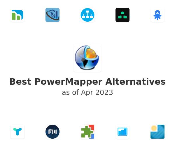 Best PowerMapper Alternatives