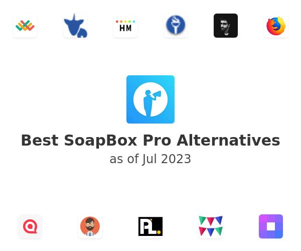 Best SoapBox Pro Alternatives