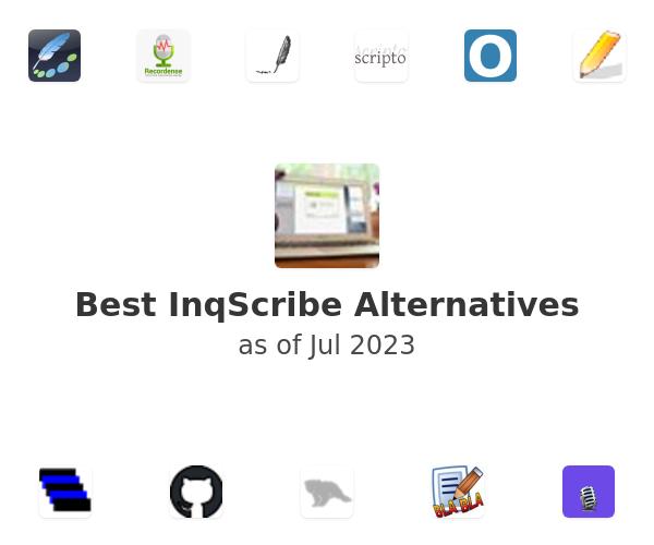 Best InqScribe Alternatives