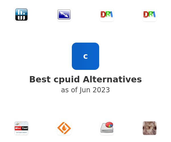 Best cpuid Alternatives