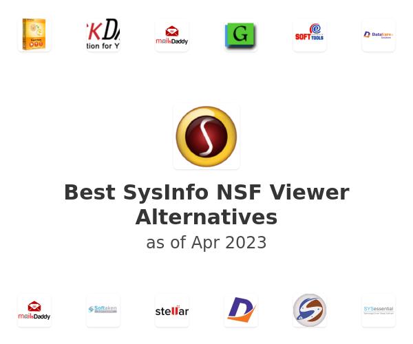 Best SysInfo NSF Viewer Alternatives