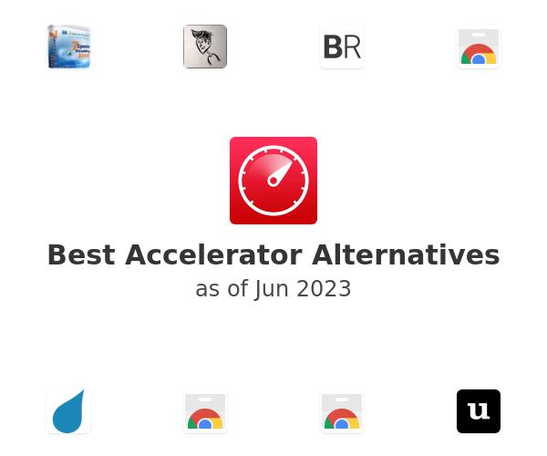 Best Accelerator Alternatives