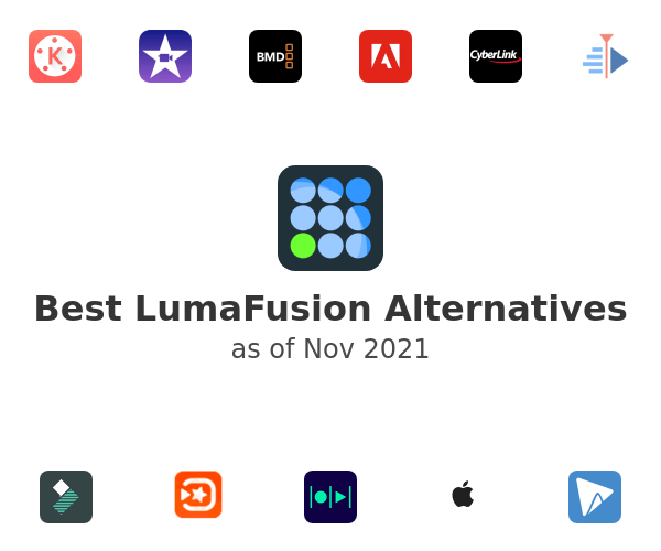 Best LumaFusion Alternatives