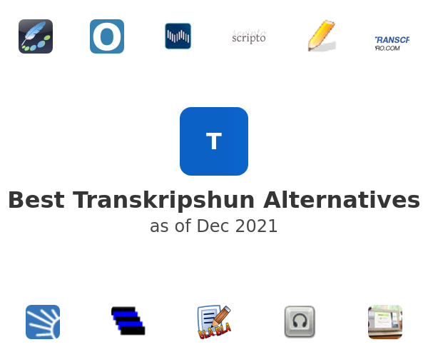 Best Transkripshun Alternatives