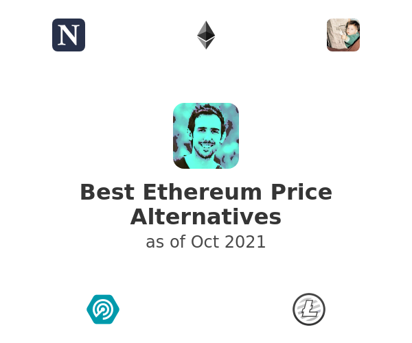 Best Ethereum Price Alternatives
