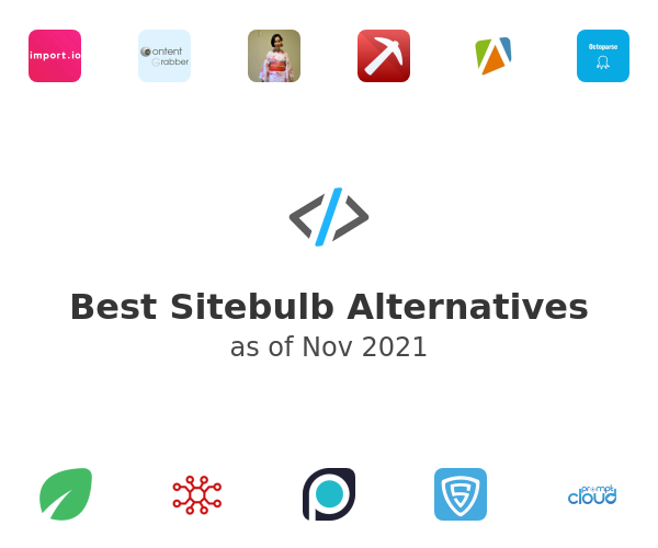 Best Sitebulb Alternatives