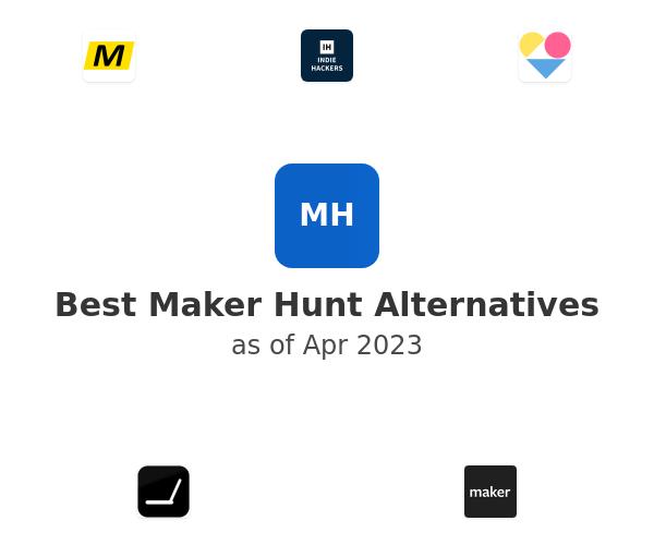 Best Maker Hunt Alternatives