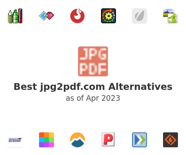 Best jpg2pdf.com Alternatives
