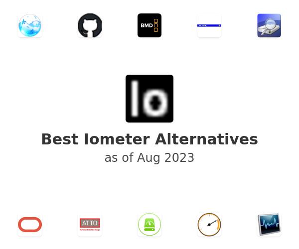 Best Iometer Alternatives