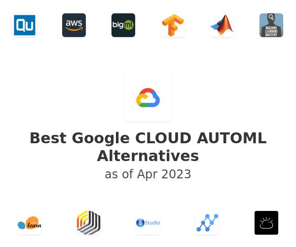Best Google CLOUD AUTOML Alternatives