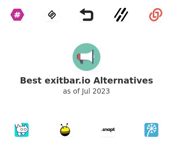 Best exitbar.io Alternatives
