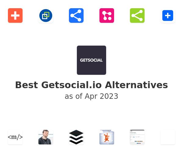 Best Getsocial.io Alternatives